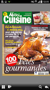 magazines de cuisine maxi cuisine magazine android apps on play