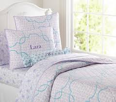 Girls Quilted Bedding by Lara Quilted Bedding Pottery Barn Kids Ellie U0027s Room