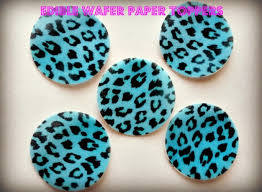 cheetah print party supplies deco machine toppers