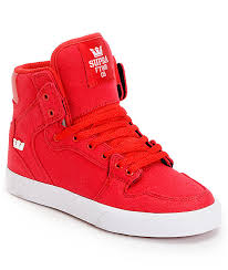 high tops supra vaider canvas high top skate shoes zumiez