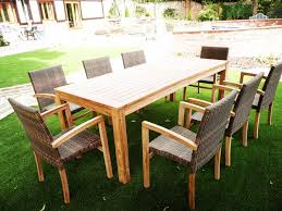 8 seat patio table hemsworth 8 seater teak rattan patio set hunters of yorkshire