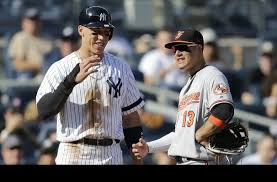 Aaron Judge Joins An Exclusive Club Of Yankees All Stars Pinstripe - aaron judge warned of tering after recruiting orioles manny