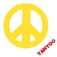 peace sign tantoos tattooforaweek sun stickers largest