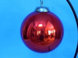 heavy glass ornament ebay