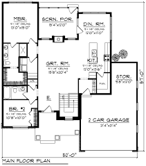 ranch style house plan 2 beds 2 00 baths 1540 sq ft plan 70 1237