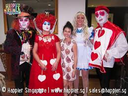 halloween face painting alice in wonderland mad hatter queen of hearts happier singapore jpg