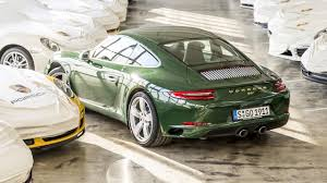 irish green porsche the one millionth porsche 911 is superb top gear