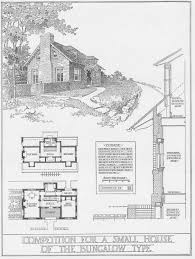 Floor Plan Bungalow Type 100 Turn Of The Century Brick Bungalows With Floor Plans
