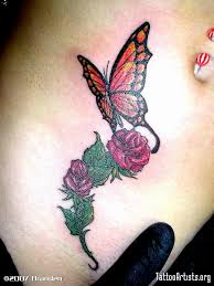 butterfly with tattooshunt com