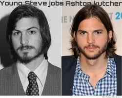 Steve Jobs Meme - young steve jobs vs ashton kutcher weknowmemes