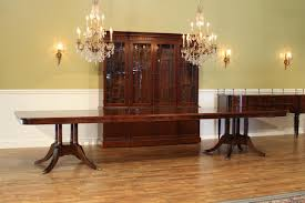 Dining Room Sets With China Cabinet Mahogany China Cabinet Hutch Breakfront Fine Reproduction