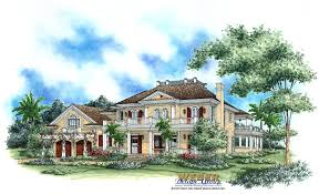 Luxurious Home Plans by Charleston House Plans Southern Style With Columns Wrap Around