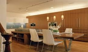 white oak wood red lasalle door kitchen island table combination
