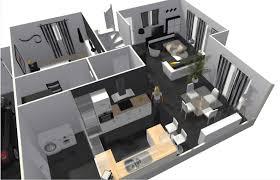 plan de maison avec cuisine ouverte merveilleux plan maison cuisine ouverte 6 r233aliser votre