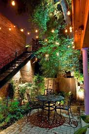 Lighting For Patios Outdoor Magic U2013 How To Decorate With Fairy Lights