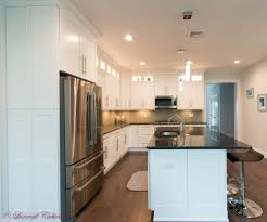 frosted white shaker kitchen cabinets white shaker kitchen fabuwood galaxy stacked cabinets