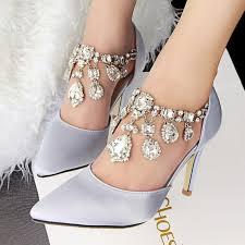 Rhinestone Flat Sandals Wedding Best 25 Wedding Shoes Ideas On Pinterest Wedding