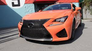 rcf lexus orange photos 2015 lexus rc f carcast