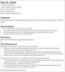 Child Care Resume Samples by Sample Cover Letter For Babysitting Job Resume Cv Cover Letter