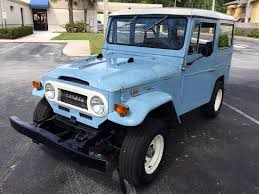 land cruiser vintage 1970 toyota land cruiser fj 40 for sale