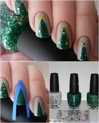 16 creative and easy diy christmas nail art ideas and tutorials
