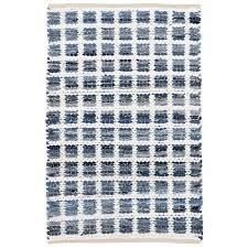 Denim Rag Rug Denim Rag Squares Woven Cotton Rug Design By Dash U0026 Albert U2013 Burke