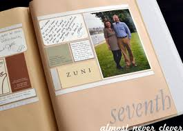 wedding scrapbooks wedding scrapbook almost never clever