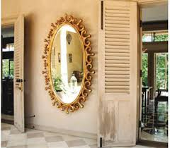 handmade mirror design ideas for contemporary home interior by