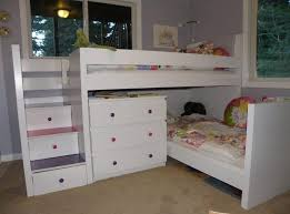 Bunk Beds With Stairs And Storage Bedroom Affordable White Ikea Metal Bunk Bed Frame With Stairs