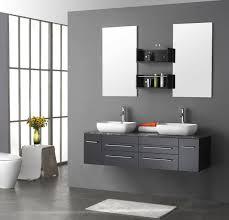 White Modern Bathroom Vanity by Bathroom Bathroom Shops Contemporary Vanity Units Wall Hung
