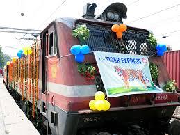 luxury trains of india indian railways launches tiger express tourist train railway gazette