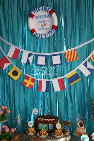 Spongebob Centerpiece Decorations by 20 Fishing Themed Birthday Party Ideas Spaceships And Laser Beams