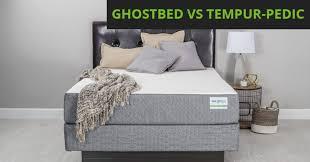 ghostbed vs tempur pedic mattress review ghostbed