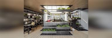 archstudio blends books coffee and plants in beijing u0027s bookstore
