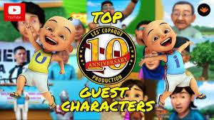 download film ipin dan upin terbaru bag 2 upin ipin top 10 guest characters cameo youtube