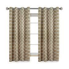 flamingop moroccan pattern blackout curtain drape set pack by 2
