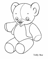 cute teddy bears coloring pages alltoys for