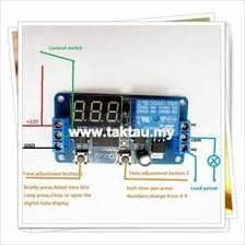 Jual Timer Dc 12v dc timer price harga in malaysia lelong