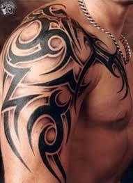 hawaiian and polynesian tribal tattoos on shoulder in 2017 real