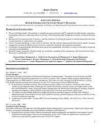 pmp certification resume sample a professional resume template for a senior project manager want