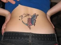 lower back butterfly designs
