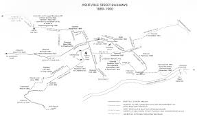 Streetcar Map New Orleans by Asbury U0027s Asheville 1900 1907 Asheville Junction A Blog By
