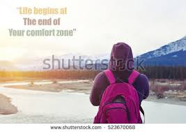 Life Begins When You Step Out Of Your Comfort Zone Comfort Zone Stock Images Royalty Free Images U0026 Vectors