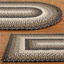 braided rug stallion jute braided rugs primitive home decors