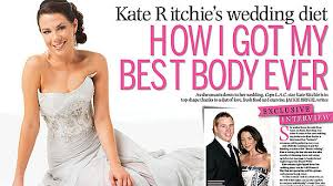 richie wedding dress kate ritchie speaks out about woman s day misleading wedding and