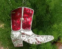 cowboy ornament etsy