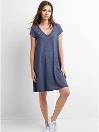a line v neck dress gap uk