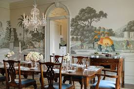 hand painted wallpaper archives dining room decor