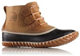 womens duck boots sale s out n about leather warm waterproof boot sorel