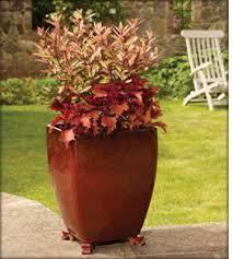apta large glazed modern pots and planters